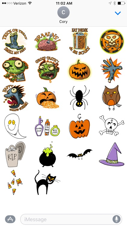 Spooky Sticker Pack