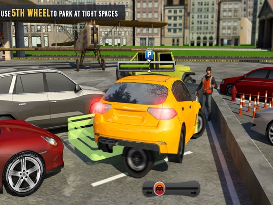 5th Wheel Car Parking Spot 3D-ipad-0