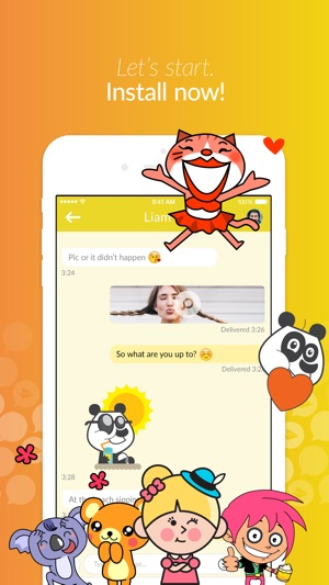 Jongla - Social Messenger Screenshot