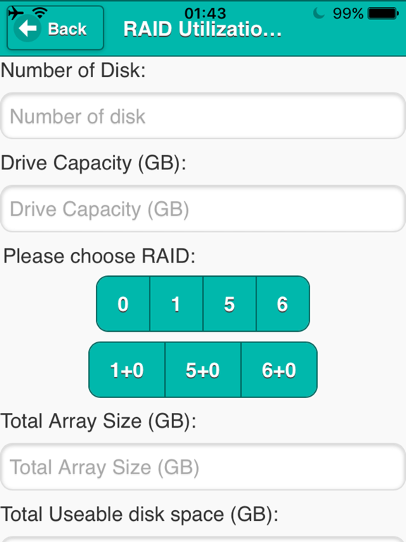 Bandwidth RAID Calculator | App Price Drops