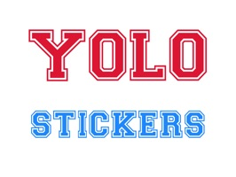YOLO Stickers - All The Buzzwords You Need