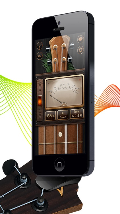 Chromatic Guitar Tuner: Ukulele, Bass, Violin screenshot-3