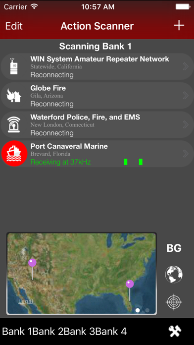 Action Scanner - Police, Fire, EMS and Amateur Radio | App Price Drops