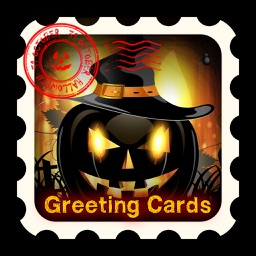 HD Halloween Cards, Stickers & Frames for Greeting