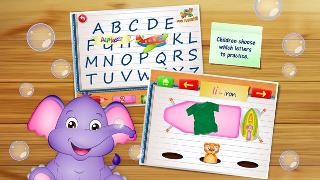 Kids Letters Learning - Educational Game for Kids - Apps ...
