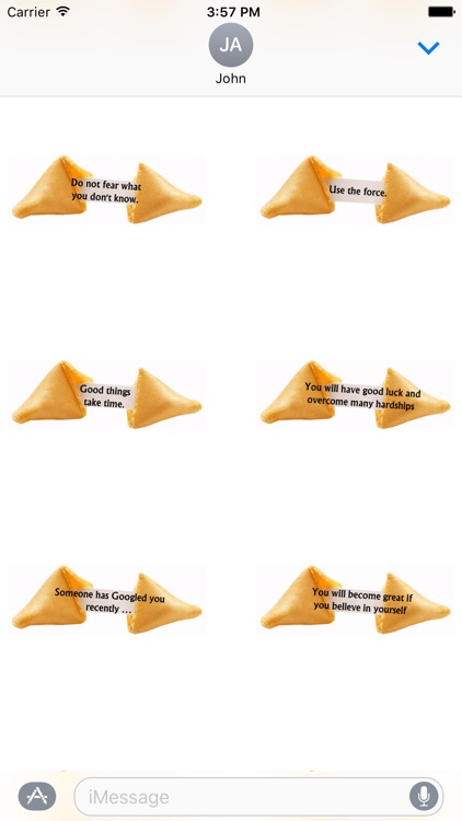 Animated Fortune Cookie Stickers screenshot-4