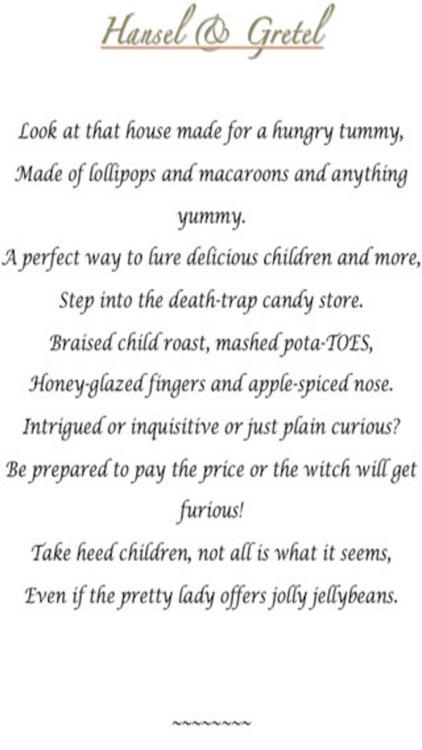 Macabre Fairy Tales