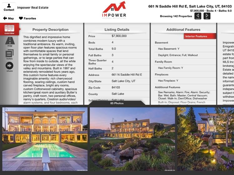 IMPOWER Real Estate for iPad screenshot-3
