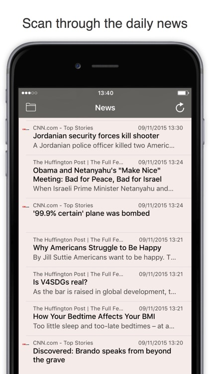 RSS Watch: Your RSS Feed Reader for News & Blogs screenshot-1