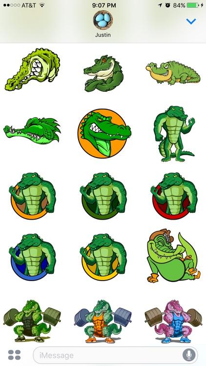 Gator Stickers