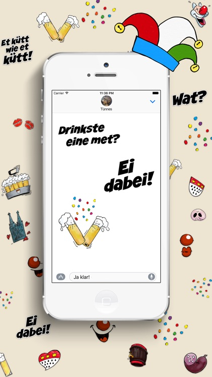 Kölsche Sticker - Karneval screenshot-4