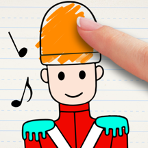 Bedtime Story: Toy Soldier Coloring Book Free