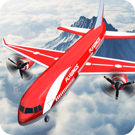 3D AirPLane Flight Sim Flying AirCraft Simulator 2
