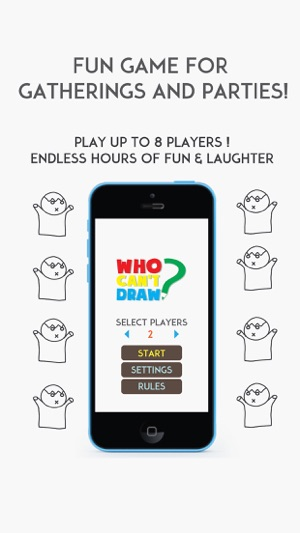 Who Can T Draw Party Game On The App Store