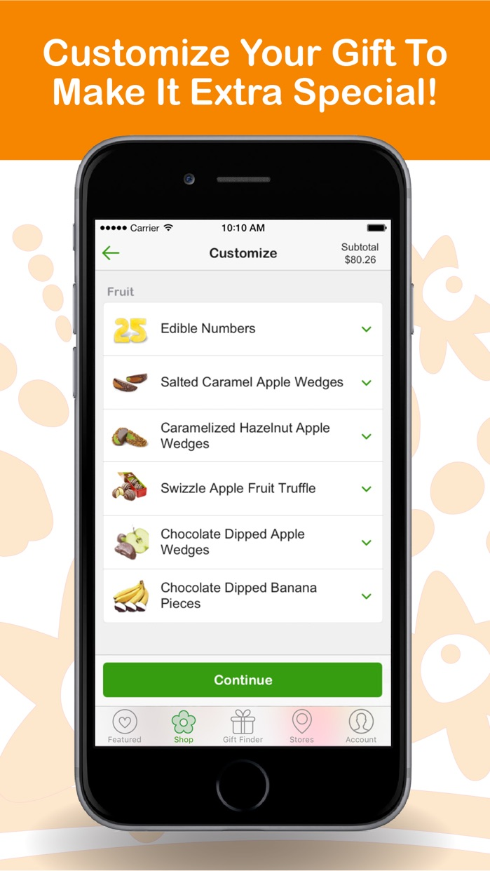 Edible Arrangements Screenshot