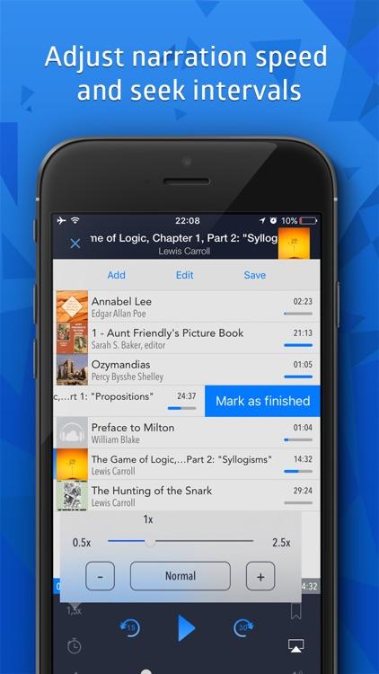 Cloudbeats audiobooks offline screenshot-4