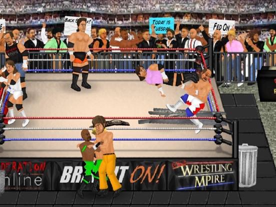 Wrestling Revolution на iPad