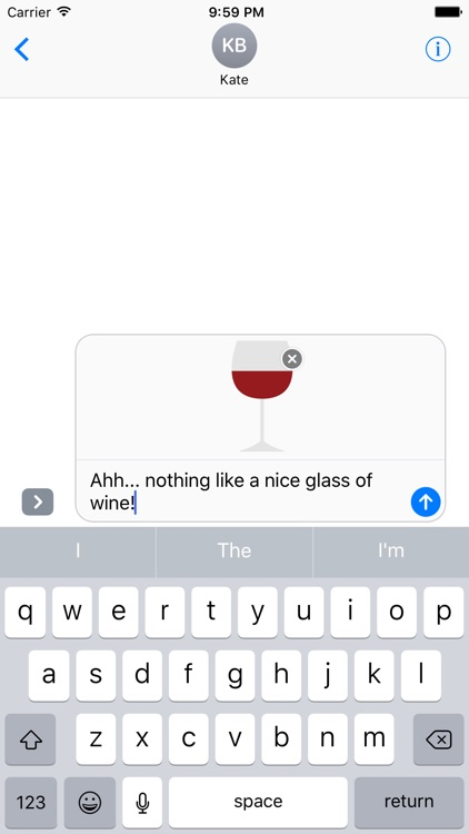 Beer and Wine Sticker Pack for iMessage screenshot-0