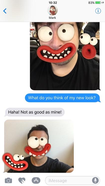 Aardman Face Bomb