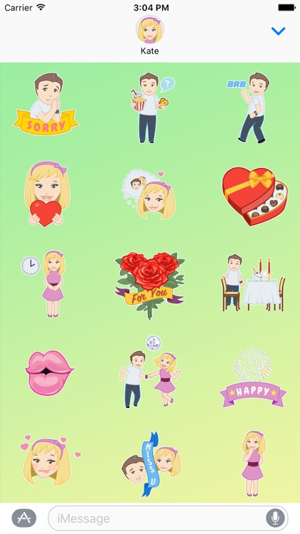 IThanks Stickers