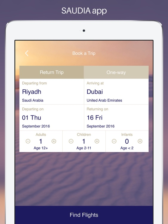 SAUDIA for iPad screenshot-2