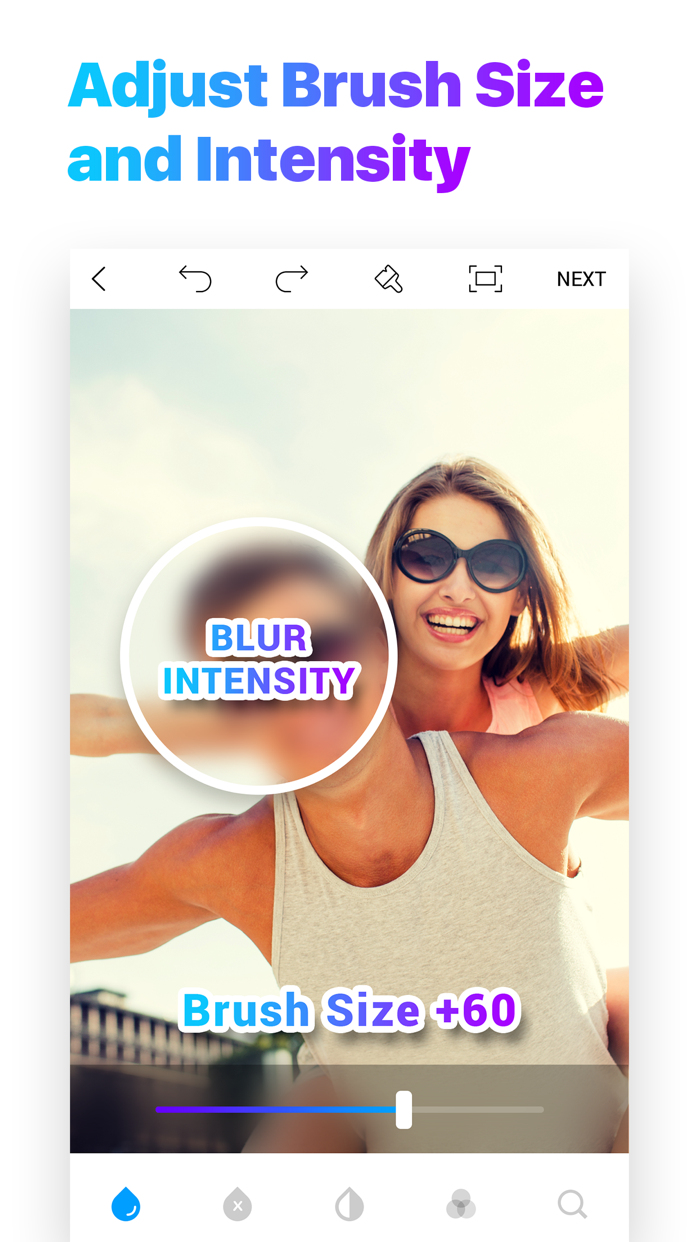 Blur Photo Editor Screenshot