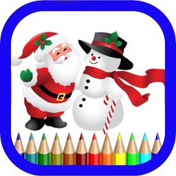 Christmas Coloring Pages - Drawing Pad For Kids