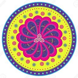 Diwali  (Audio & Rangoli Design)