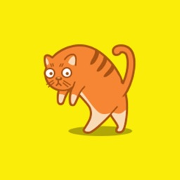 Cat Emoji Sticker Animated Gifs Icon for Cat Lover