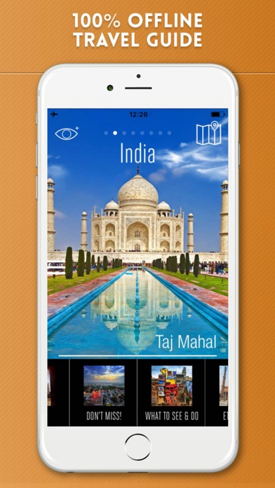 India Travel Guide and Offline Street Maps screenshot one