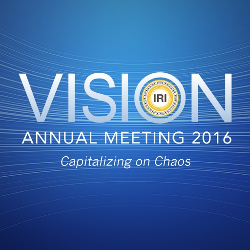 VISION IRI Annual Meeting 2016