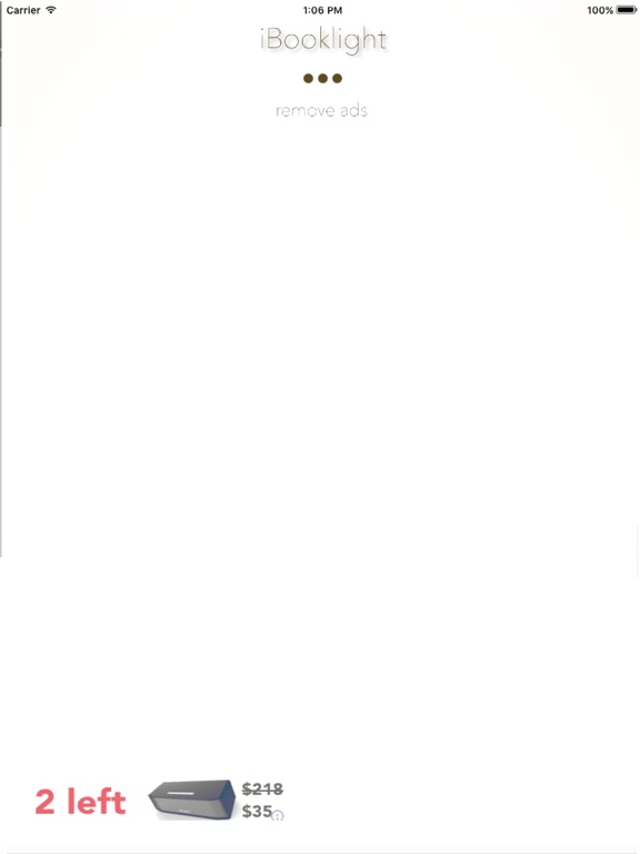 iBOOKLIGHT iPad