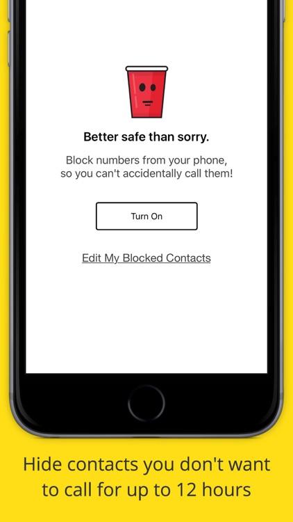 Drunk Mode - Call Blocker screenshot-3