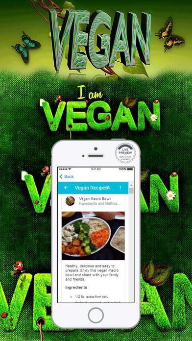 Vegan Diet Food List Recipes screenshot two