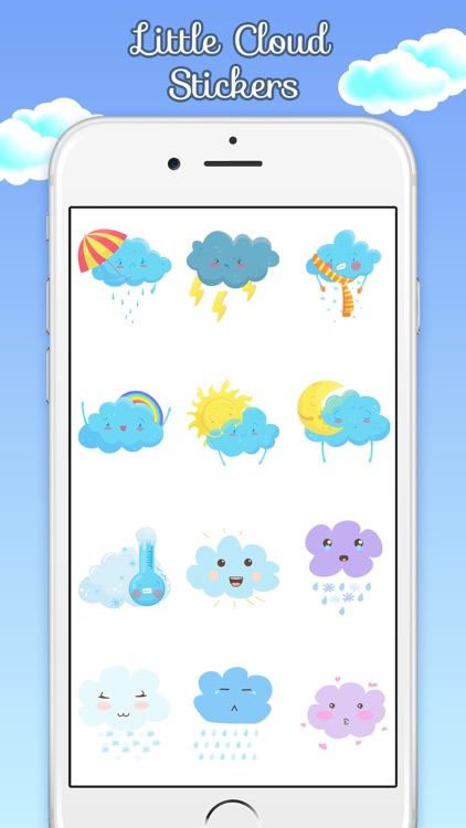 Little Cloud Stickers screenshot-2