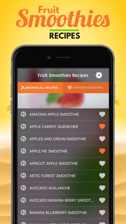Fruit Smoothies Recipes