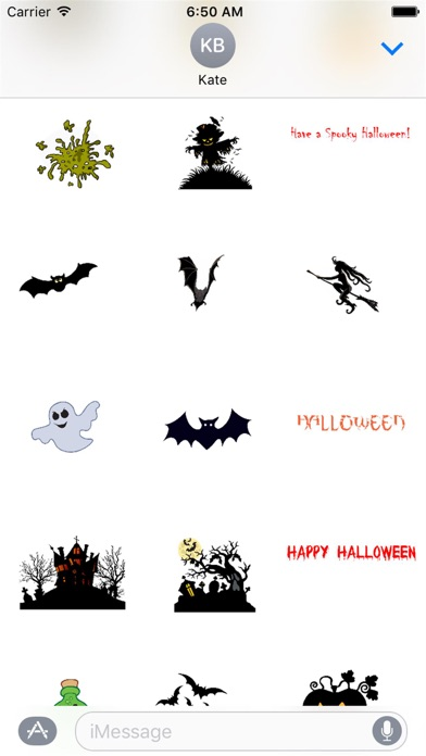 HD Halloween Stickers app image