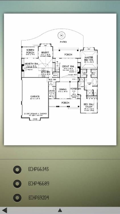 English Cottage House Plans! screenshot-3