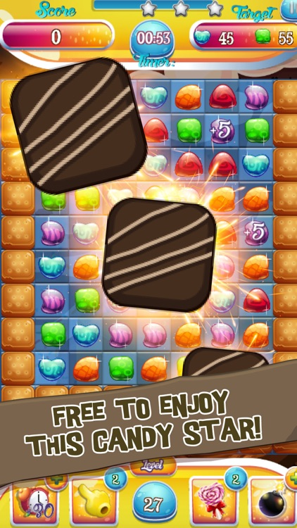 Unscramble Candy Puzzle : Take Down Operation Match Puzzle