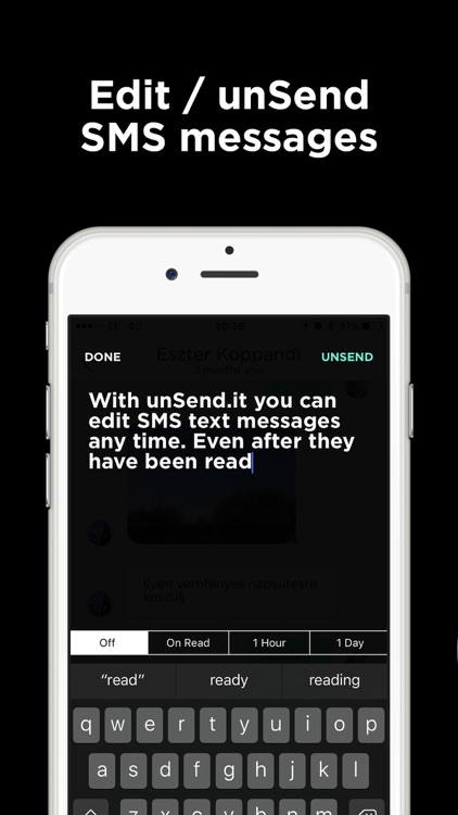 unSend.it - Encrypted SMS Text Messaging