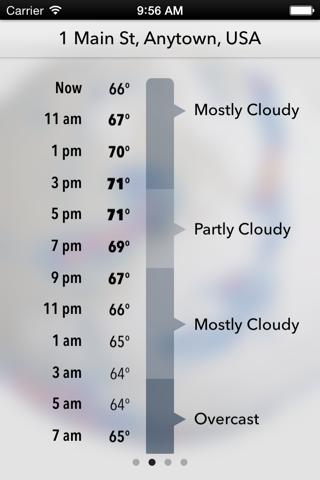 Dark Sky Weather screenshot 2