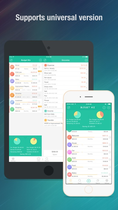 budget wiz pro monthly home budget planner log app price drops