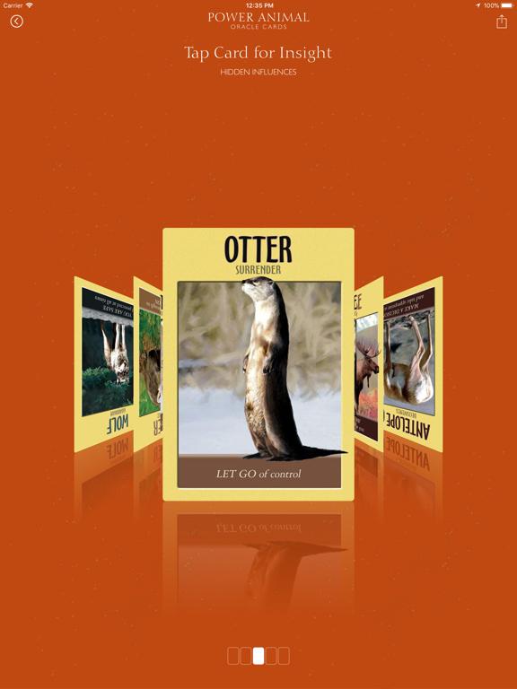 Power Animal Oracle Cards screenshot 8