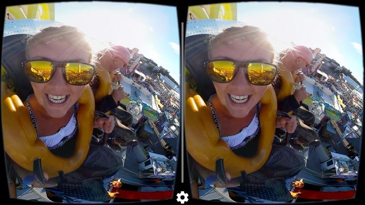 VR Oktoberfest Top Spin Wild Mouse Roller Coaster screenshot-3