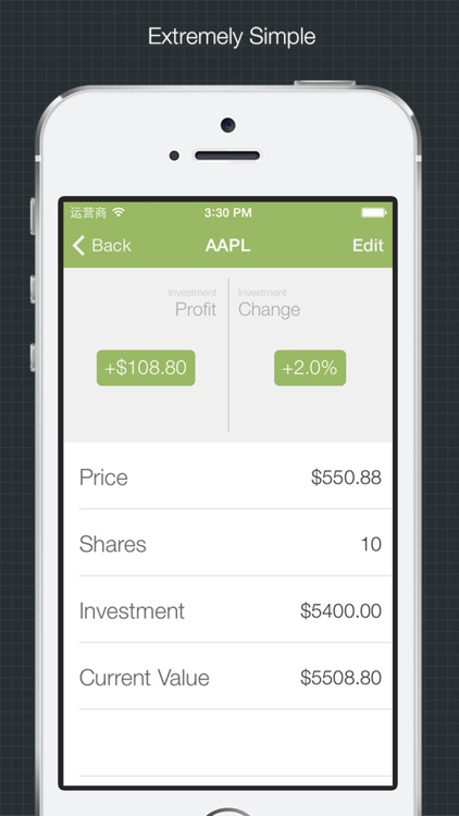 Stock Profit - Simple Way to Check Gains or Lost from Stock Market screenshot-3