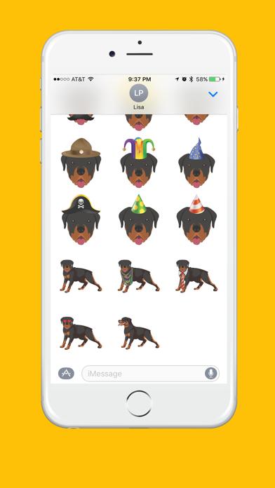 Rottweiler Emoji screenshot four