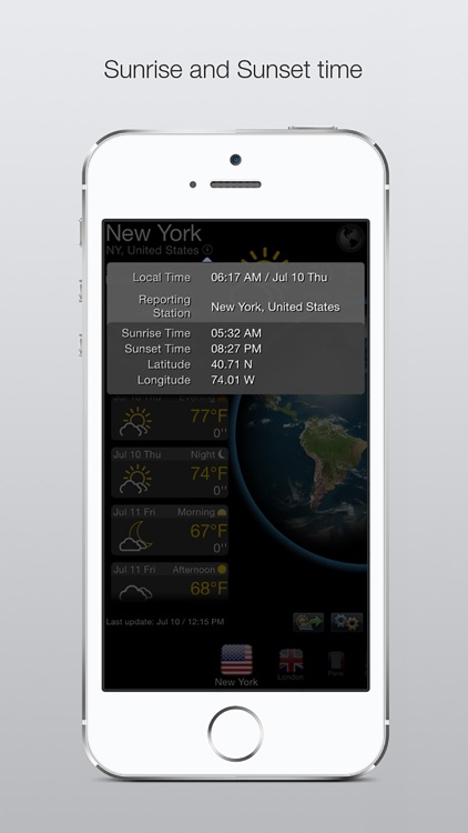 Real Weather Forecast screenshot-3