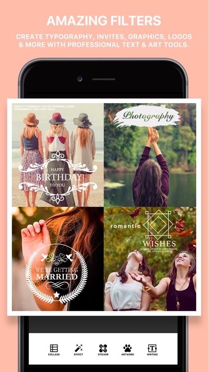 Photo Poster Pro - photo frame editor and picture collage maker screenshot-3