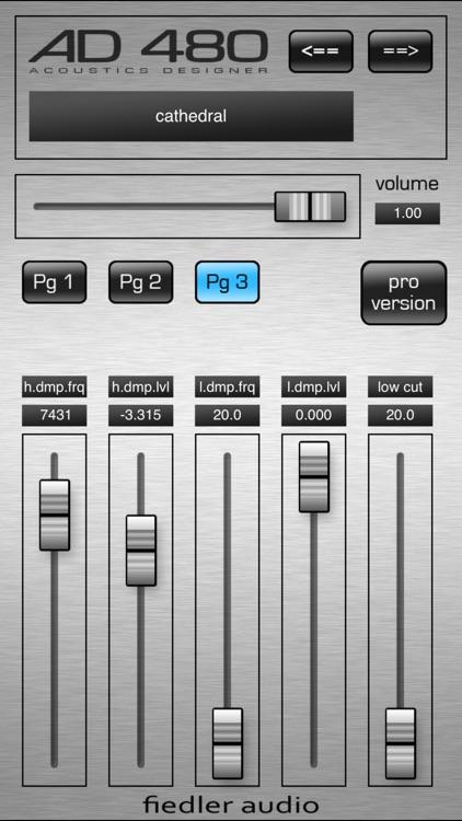 AD 480 basic - Studio Reverb screenshot-4