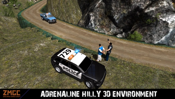 Off-road Hill Police Crime Simulator Screenshot